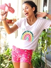 SOLO Pijama Short Follow the rainbow