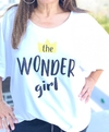 Remerón escote semi - bote The wonder girl GLITTER