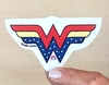 Sticker Wonder Woman en internet