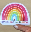Sticker You are your own rainbow en internet