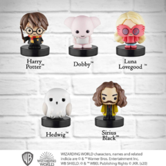 Conjunto com 5 Carimbos Harry, Edwiges, Sirius, Dobby e Luna - Harry Potter na internet