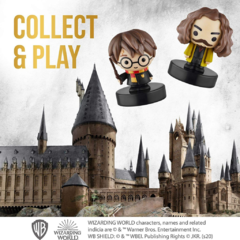 Imagem do Conjunto com 5 Carimbos Harry, Edwiges, Sirius, Dobby e Luna - Harry Potter