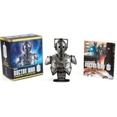 Miniatura do Busto Cyberman com folheto - Dr Who