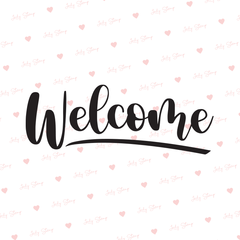 F763 - Welcome cartel - comprar online