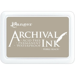 Almohadilla de Tinta Indeleble Ink Color Pebble Beach Ranger Archival - comprar online