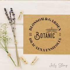 J305 - Botanic - Lady Stamp