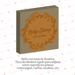 PER004 - personalizable - Modelo 4 - Lady Stamp