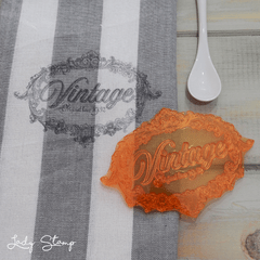V618 - Vintage Chico - Lady Stamp