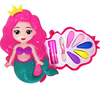 Kit Maquiagem Infantil Sereia Little Beauty