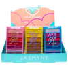 Paleta de Sombras Magic Jasmyne JS06032 - Display 24 unidades