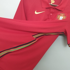 Camisa Portugal Home 2020/2021 - Gold Sports