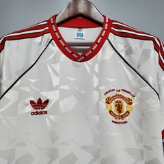 Camisa retrô Manchester United 1991 - Gold Sports
