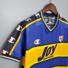 Camisa Retrô Parma Champions 01/02 - Gold Sports