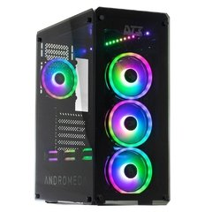 Gabinete Gamer Dt3 Sports Gaming Andromeda V2 Black Edition Sync Tempered Glass Mid Tower C/Janela - 11651-4