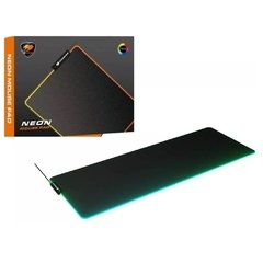 Mouse Pad Gamer Cougar Gaming Esports Neon X Rgb Extra Large Speed 80cm X 30cm X 4mm - 3MNEXMAT.0001