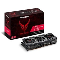 Placa De Vídeo Powercolor Amd Radeon Navi Rx5700 Red Devil 8gb Gddr6 256 Bits - 8GBD6-3DHE/OC