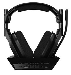 Headset Gamer Astro A50 Ps4 Preto Wireless + Base Station Pc/Console Usb Dolby Digital Surround 7.1 - 939-001674 na internet