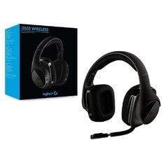 Headset Gamer Logitech Gaming G533 Wirelles Dts Dolby Digital Surround 7.1 - 981-000633