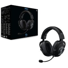 Headset Gamer Logitech Gaming G Pro X Preto Usb Dolby Digital Surround 7.1 - 981-000817