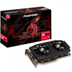 Placa De Vídeo Powercolor Amd Radeon Red Dragon Rx580 8gb Gddr5 256 Bits - AXRX 580 8GBD5-3DHDV2/OC