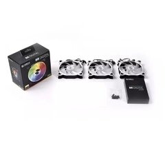 Fan Gamer Lian Li Bora Digital Silver Addressable Rgb 3 X 120mm Pwm - BR DIGITAL-3R S