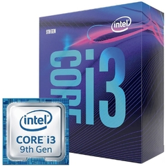Processador Intel Core I3 9100f, 4 Core 4 Threads, Coffee Lake 9ª Geração, Cache 6mb, 3.6ghz, (4.2ghz Max Turbo), Lga 1151 - BX80684I39100F