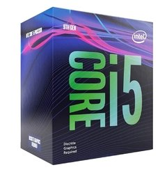 Processador Intel Core I5 9400f, 6 Core 6 Threads, Coffee Lake 9ª Geração, Cache 9mb, 2.9ghz (4.1ghz Max. Turbo), Lga 1151 - BX80684I59400F