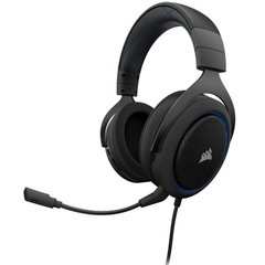 Headset Gamer Corsair Gaming HS50 Blue P2 Estéreo - CA-9011172-NA
