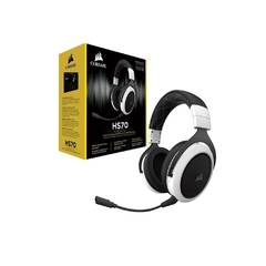 Headset Gamer Corsair Gaming Hs70 Branco Wirelles Dolby Digital Surround 7.1 - CA-9011177-NA