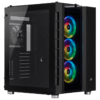 Gabinete Gamer Corsair Crystal Series 680x Rgb Preto Vidro Temperado Mid Tower C/Janela - CC-9011168-WW