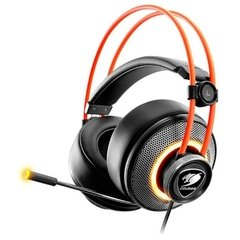 Headset Gamer Cougar Gaming Immersa Pro Preto Rgb Usb Dolby Digital Surround 7.1 - CGR-U50MB-700 na internet