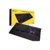 Teclado Gamer Mecânico Corsair Gaming K70 Preto Mk.2 Rgb Rapidfire Cherry Mx Low Profile Speed (Us) - CH-9109018-NA
