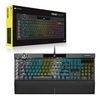 Teclado Gamer Mecânico Corsair Gaming K100 Rgb Opx Keyswitches (Us) - CH-912A01A-NA