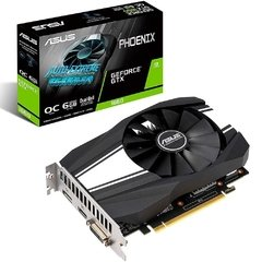 Placa de Vídeo Asus Nvidia Geforce Dual-Ball Phoenix OC Edition GTX 1660 6GB GDDR6 192 Bits - PH-GTX1660-O6G