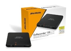 Captura Avermedia Ezrecorder 130 Interface Usb 2.0 1080p 30 Fps - ER130