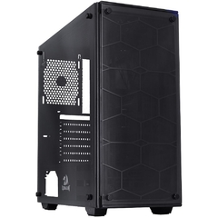 Gabinete Gamer Redragon Wheel Jack Preto Vidro Temperado Mid Tower C/ Janela - GC-606BK