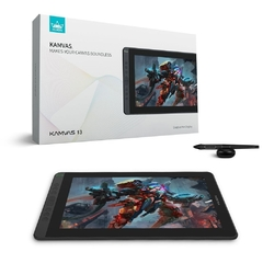 Mesa Digitalizadora Huion Kamvas Cosmo Gs1331-B Pen Tablet Preto Médio Usb - GS1331-B
