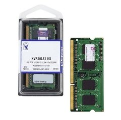 Memória Kingston Value So-Dimm Ddriiil 8gb Low Voltage 1600mhz - KVR16LS11/8