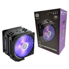 Air Cooler Cooler Master Hyper 212 RGB Black Edition C/ Controle - RR-212S-20PC-R1