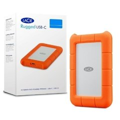 Hd Externo Lacie Rugged Usb-C 4tb 64mb 130mb/S 5.400 Rpm - STFR4000800