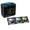Fan Gamer Lian Li Uni Fan Sl120 Preto 3 X 120mm Pwm Argb - UF-SL120-3B