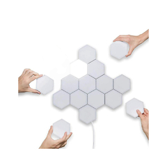 Paneles de Luz LED Hexagonales Inalámbricos