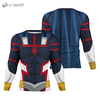 Camisa Manga Longa Uniforme All Might Young Age (Cloak)