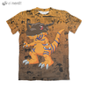 Camisa Digimon Adventure - Greymon