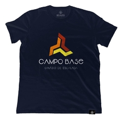 Camiseta Campo Base Marinho | Nos Alpes