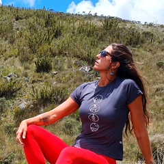 Dry Fit Biodegradable UV Protection Womens Tee | Nos Alpes