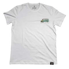 Camiseta Magic Bus Into The Wild Branco | Nos Alpes