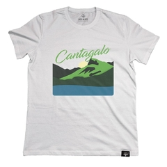 Camiseta Pedra do Cantagalo Branco | Nos Alpes