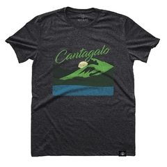 Camiseta Pedra do Cantagalo Chumbo | Nos Alpes