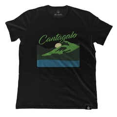 Camiseta Pedra do Cantagalo Preto | Nos Alpes